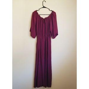 Dance&Marvel Burgundy Maxi Dress